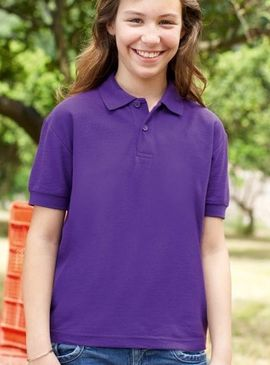 Fruit Of The Loom Children's Polo Shirt
